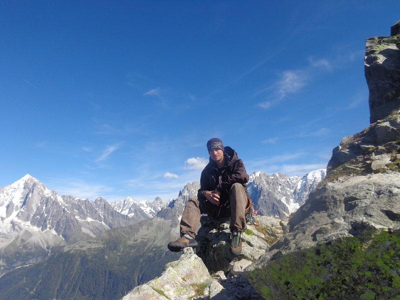 Rock Climbing Photo: chamonix