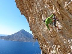 Rock Climbing Photo: DNA, Kalymnos, Greece