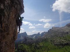 Rock Climbing Photo: Cinque Torri, Dolomiti, Italia