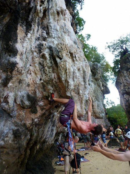 Rock Climbing Photo: Tonsai, Thailand