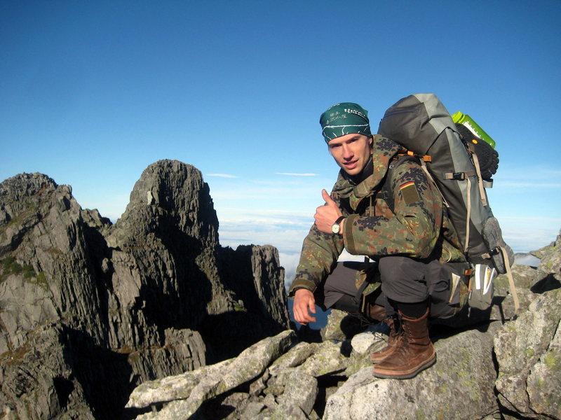 Rock Climbing Photo: Kita Alps, Japan