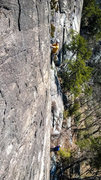 Rock Climbing Photo: A photo of some guys killing it up Gunboat Diploma...