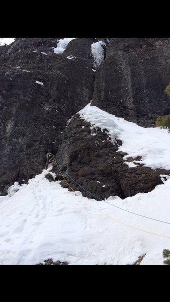 Rock Climbing Photo: Eric Dixon, starting pitch five.