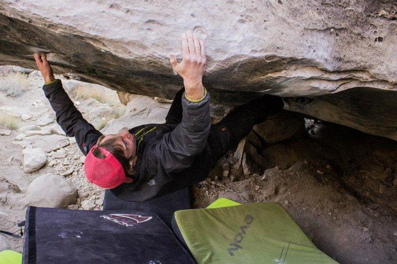 Rock Climbing Photo: Amazing problem. Photo by Max Owens