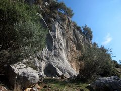 Rock Climbing Photo: Hüdaverdi from just past the Afro sector