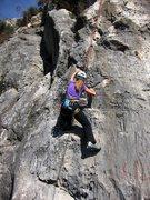 Rock Climbing Photo: Fine limestone on Najoua