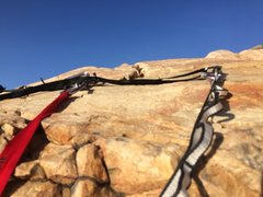 Rock Climbing Photo: A Look at the top anchors