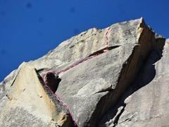Rock Climbing Photo: Fluted Crust