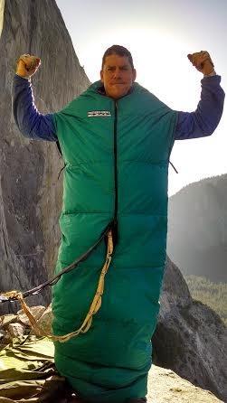 Chris Martin invincible on El Cap Tower.
