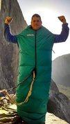 Rock Climbing Photo: Chris Martin invincible on El Cap Tower.