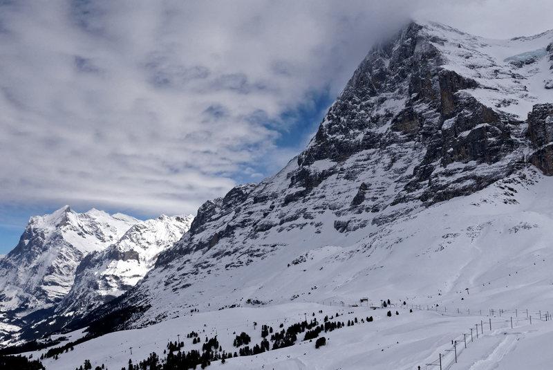 Rock Climbing Photo: Eiger. North Face.