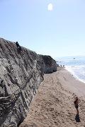 Rock Climbing Photo: derek wit the second assent