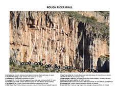 Rock Climbing Photo: Rough Rider Wall