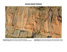 Rock Climbing Photo: Rough Rider Terrace