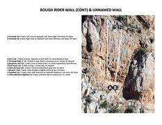 Rock Climbing Photo: Rough Rider Wall (Cont) & Unnamed Wall