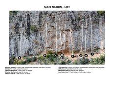Rock Climbing Photo: Slate Nation - Left