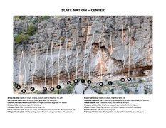 Rock Climbing Photo: Slate Nation - Center