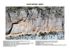 Rock Climbing Photo: Slate Nation - Right