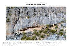 Rock Climbing Photo: Slate Nation - Far Right