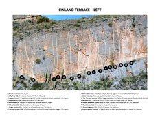 Rock Climbing Photo: Finland Terrace - Left