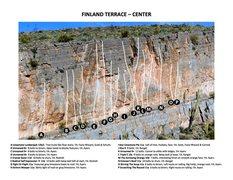 Rock Climbing Photo: Finland Terrace - Center