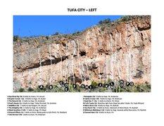 Rock Climbing Photo: Tufa City - Left