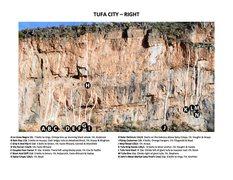 Rock Climbing Photo: Tufa City - Right