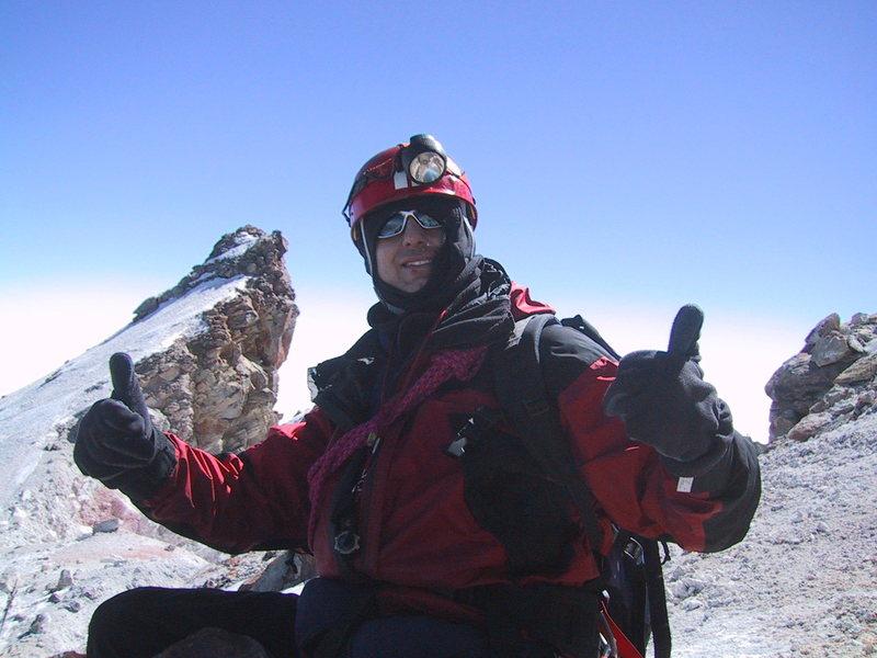 Summit Orizaba (18,491ft) Mexico
