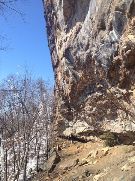 Rock Climbing Photo: The Cirque makes for a fantastic winter season cra...