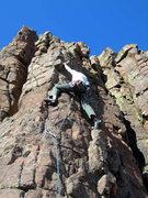 Rock Climbing Photo: Dave likes the jugs.