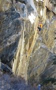 Rock Climbing Photo: Finishing up The Gauntlet after starting up Siberi...
