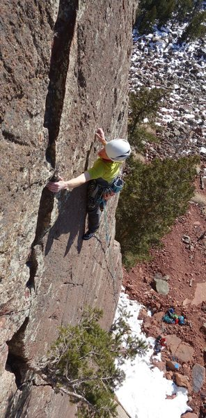 Rock Climbing Photo: Aerospace