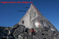 Rock Climbing Photo: The Bugaboos, Purcell Mtns, BC  submitted as a cle...