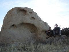 Rock Climbing Photo: VOTM boulder