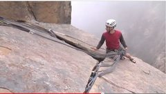 Rock Climbing Photo: 17-point cam-nest with actual boat anchor.