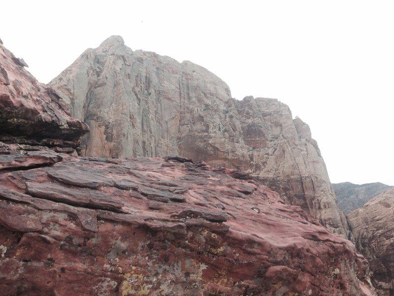 Rock Climbing Photo: Rainbow Wall 3-11-15