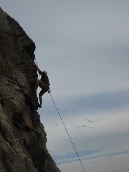 Rock Climbing Photo: Jason.