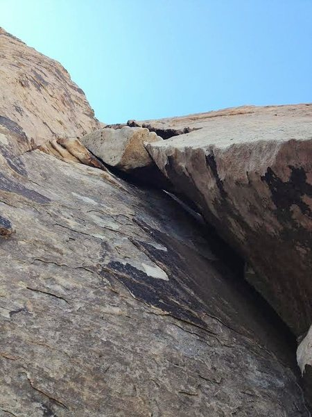 """Rock Climbing Photo: Good picture of the """"Block"""" which is per..."""