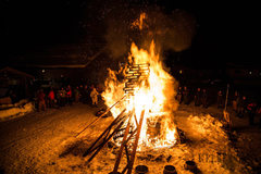 Rock Climbing Photo: This is how we keep warm on a chilly February nigh...