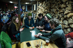 Rock Climbing Photo: Valdez is taken over by climbers Friday night at t...