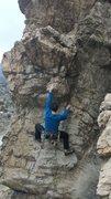 Rock Climbing Photo: HIYA!!!