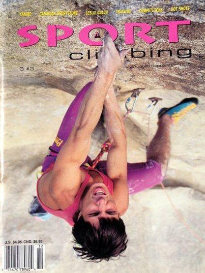 Rock Climbing Photo: Tony Yaniro on Boogieman (5.14a), City of Rocks  P...