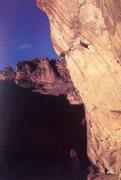 Rock Climbing Photo: Tony Yaniro on Special Relativity (5.13d/14a), Les...