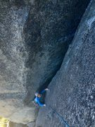 Rock Climbing Photo: 5.7 R is an amazing grade!