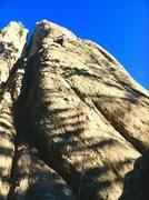 Rock Climbing Photo: Climbing Shagat on a July day in 2014