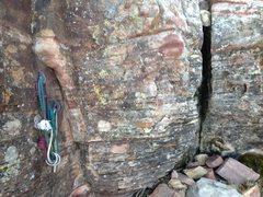 Rock Climbing Photo: Rap Station 2 Anchors.