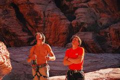 Rock Climbing Photo: Australia and Alaska made a good team.