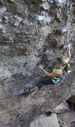 Rock Climbing Photo: Hot Lava Lucy