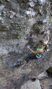 Rock Climbing Photo: Hot Lava Lucy