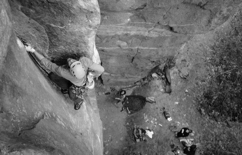 Rock Climbing Photo: Great photo taken by Ryan Sheridan of Heathenistic...